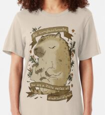 Be Compassionate Slim Fit T-Shirt