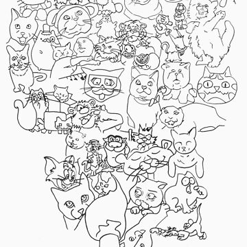 Famous Cats by Jigglylulu