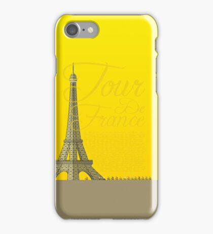 Tour De France Eiffel Tower iPhone Case/Skin