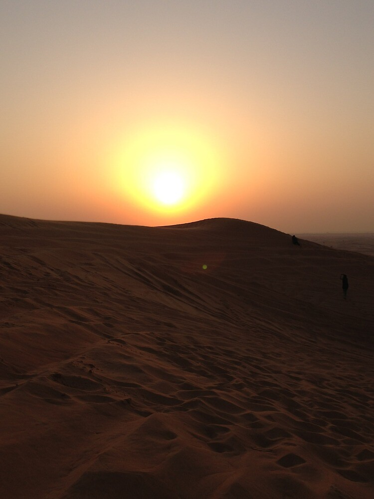 Sunset at Sand-dunes by rana10