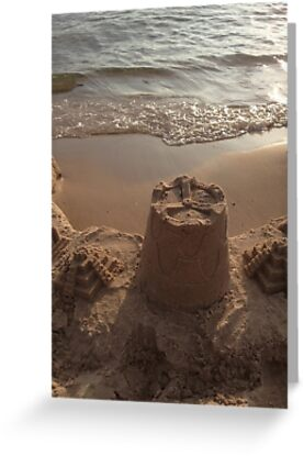 Sand Tower overlooking Lake MI by Chris Coates