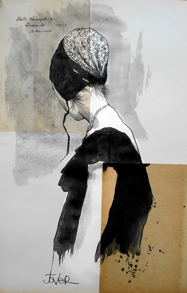 girl with a bonnet by Loui  Jover