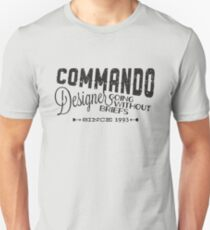 Commando Designer T-Shirt