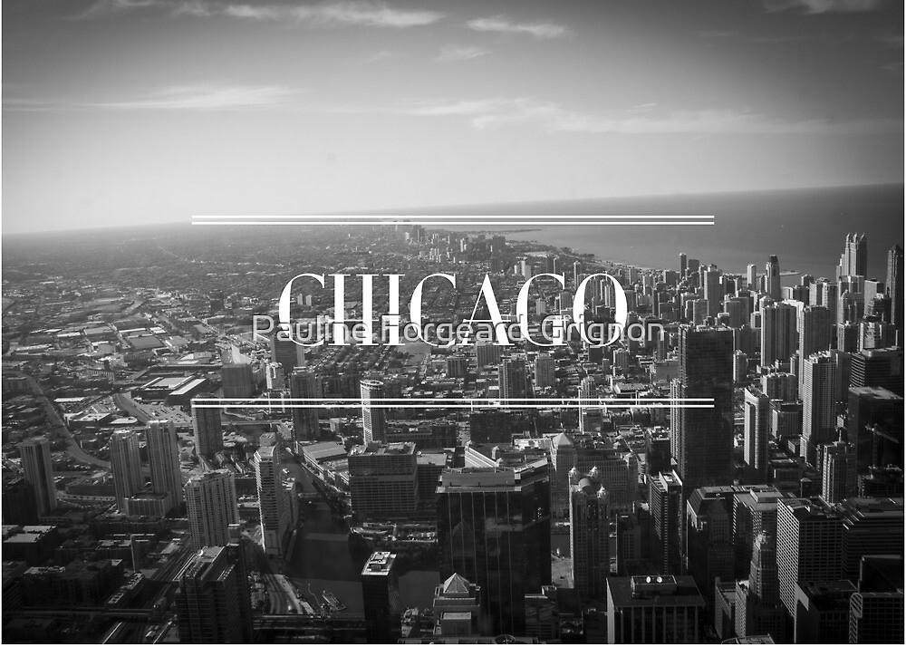 Chicago B&W by Pauline Forgeard-Grignon