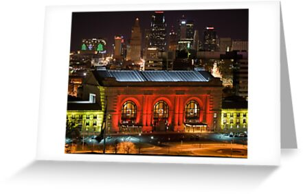 Christmas In Kansas City by BackRoadsPhotog