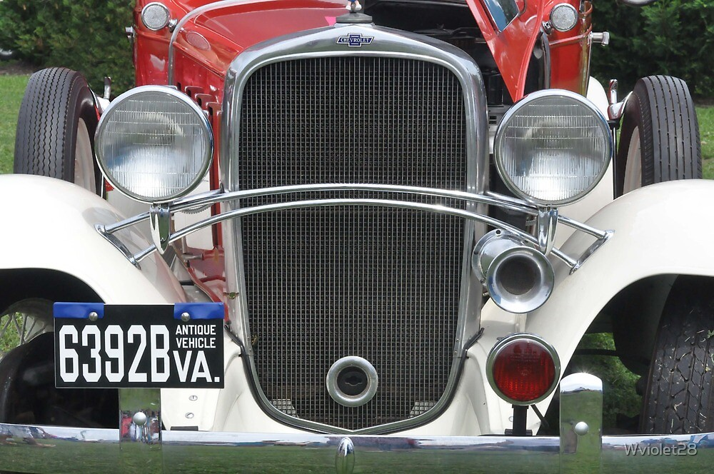 '32 Chevrolet Fire Marshall Truck by Wviolet28