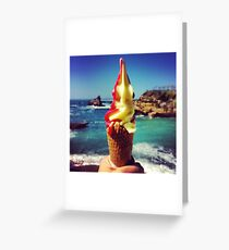 Summer Appearance Greeting Card