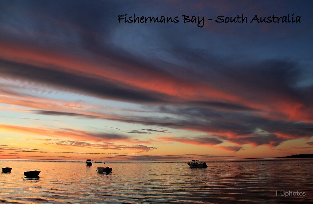 sunset and boats by FBphotos