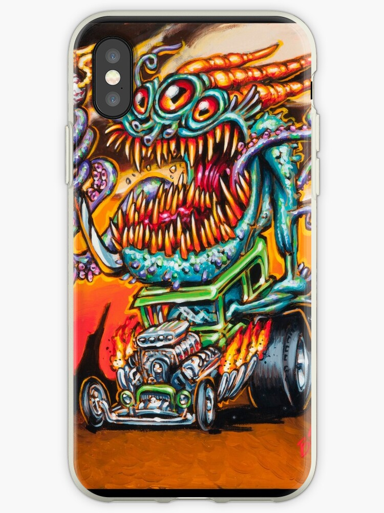 huge discount 9b977 5cc5e 'Deep One Hot Rod' iPhone Case by BigToe