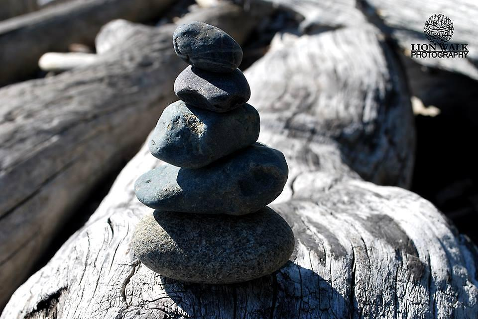 Stack of Stones by Jalil al-Hamza