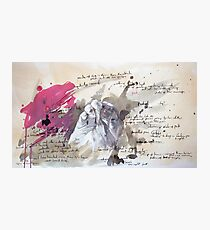 A Study in Pink - Sherlock Photographic Print