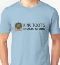 King Toot's Music Store Slim Fit T-Shirt