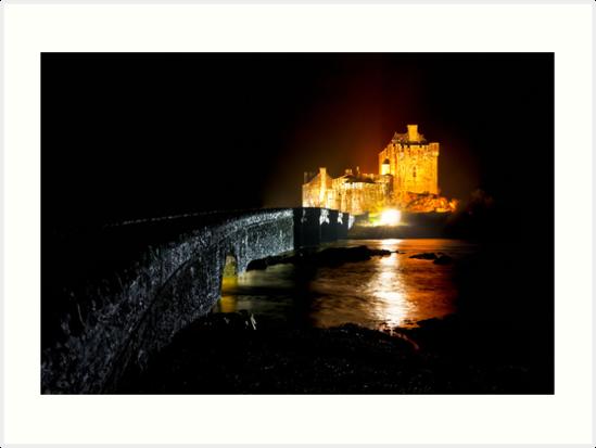 Shine Like It Does - Eilean Donan Castle by Mark Tisdale