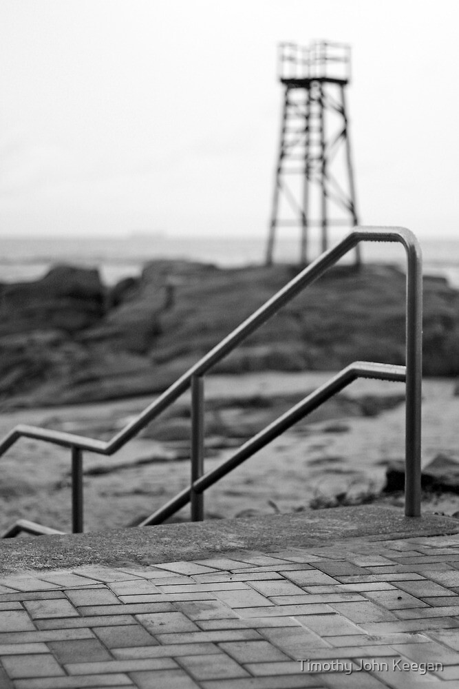 Redhead Beach Shark Tower by Timothy John Keegan