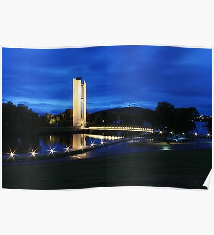 National Carillon, Canberra Poster
