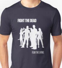 Fight the Dead T-Shirt [White Stencil] T-Shirt