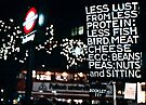 Less Lust & Protein at Oxford Circus by MarcW