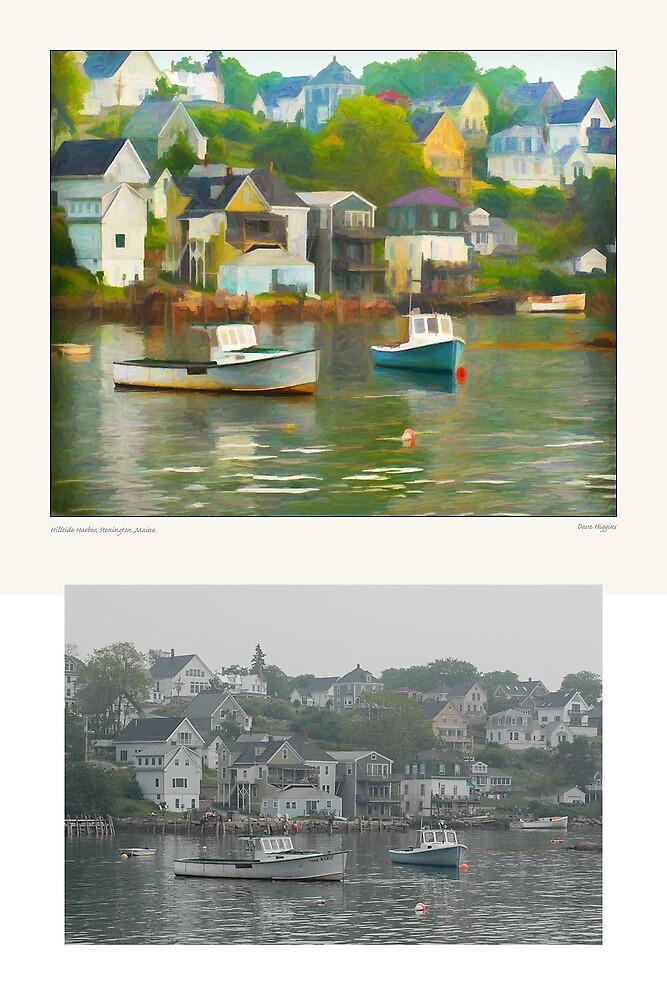 Hillside Harbor, Stonington, Maine by Dave  Higgins
