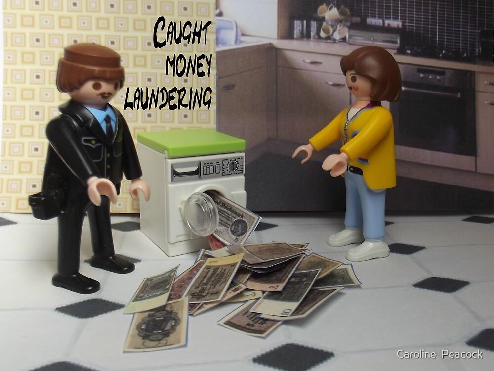 Money laundering by Caroline  Peacock