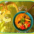 Thai Chicken Vegetable Soup by ©The Creative  Minds