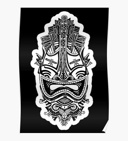 MASCARA - tribal 2 Poster