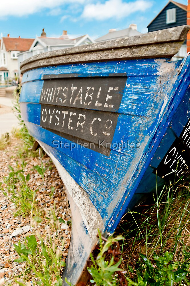 Whitstable Oyster Boat by Stephen Knowles