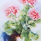 Geranium by Bev  Wells