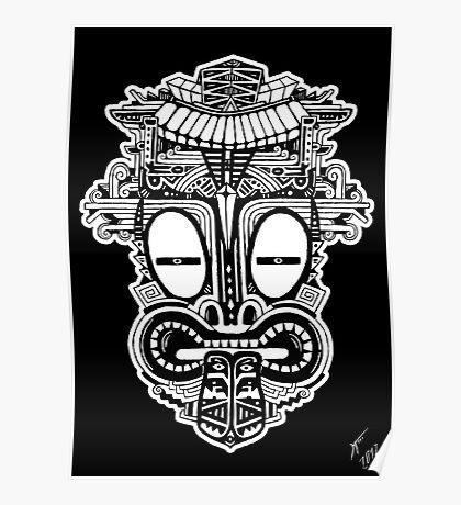 MASCARA - tribal 5 Poster