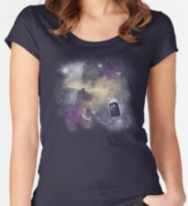 Trough Time and Space Women's Fitted Scoop T-Shirt