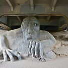 The Fremont Troll, Seattle, WA by David Davies