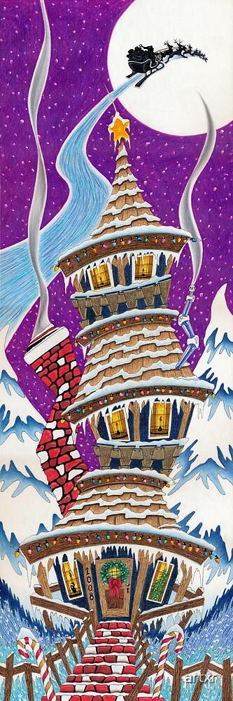 CHRISTMAS HOUSE by artxr