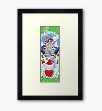 HOME FOR THE HOLIDAY / CHRISTMAS Framed Print