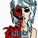 silence fiction, band shirt by Amy101