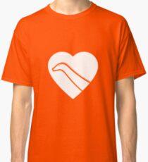 Dinosaur heart: Diplodocus Classic T-Shirt