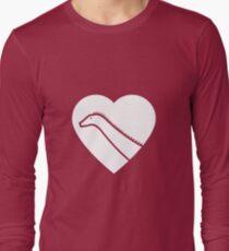 Dinosaur heart: Diplodocus Long Sleeve T-Shirt