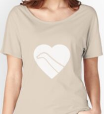 Dinosaur heart: Diplodocus Women's Relaxed Fit T-Shirt