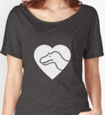 Dinosaur heart: Torvosaurus Women's Relaxed Fit T-Shirt