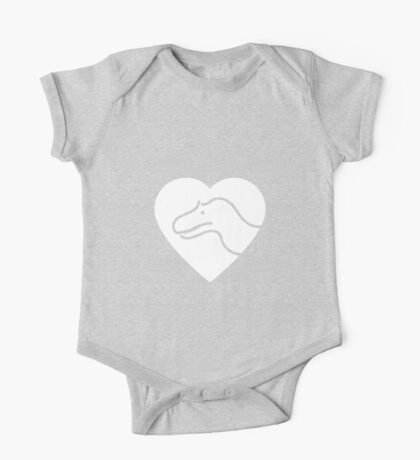 Dinosaur heart: Torvosaurus Kids Clothes
