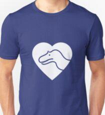 Dinosaur heart: Torvosaurus T-Shirt