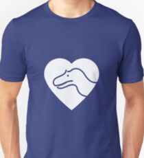 Dinosaur heart: Torvosaurus Unisex T-Shirt