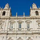 Monastery of Sao Vicente de Fora Facade by kirilart