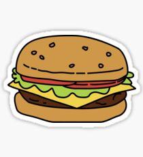 A Cheeseburger  Sticker