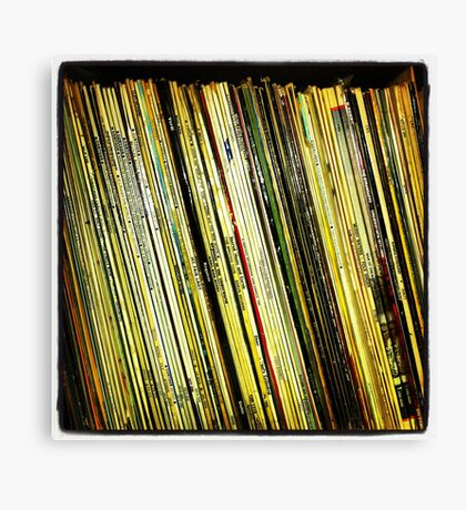 Vinyl - Instagram Canvas Print