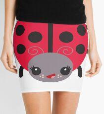 Sweet Kawaii Red Ladybug Mini Skirt