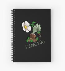 Plants vs Zombies -  I Love You Spiral Notebook