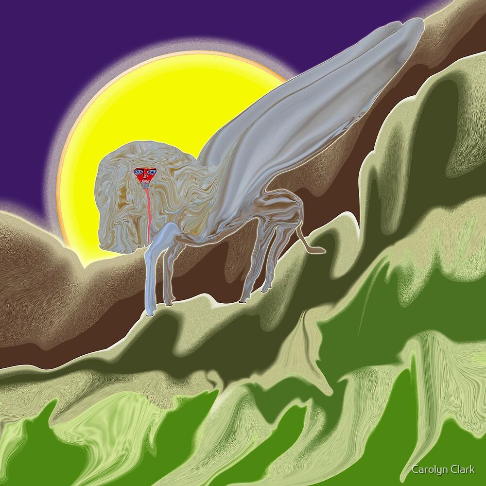 White Sphinx by Carolyn Clark