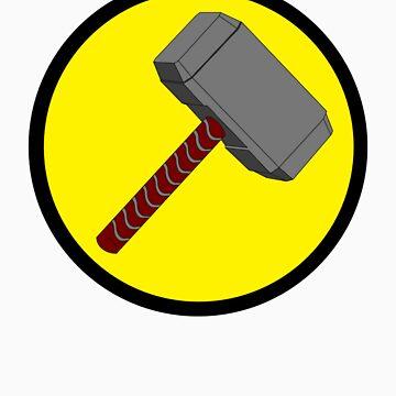 Captain Mjolnir by shayerahol22