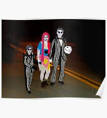 Beetlejuice and Family Poster