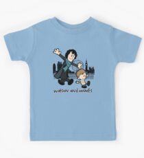 Watson and Holmes  Kids Tee