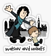 Watson and Holmes  Sticker